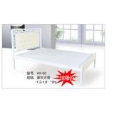 双人床 折叠双人床 铁艺双人床 双人板床 金属床 卧室家具