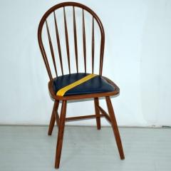凤凰椅树杈椅家用书桌椅电脑椅休闲椅主题餐厅桌椅咖啡椅奶茶椅仿实木餐椅实木纹椅子北欧餐椅