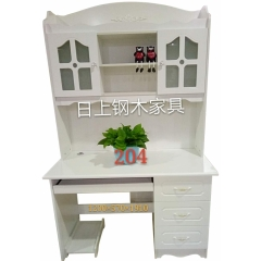 优乐娱乐电脑桌 电脑台 写字台 带抽屉电脑桌 家用电脑桌 台式电脑桌 木质电脑桌 书房家具 卧室家具优乐娱乐 日上家具