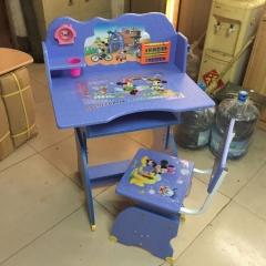 密度板吸塑板式胜芳儿童课桌椅 儿童学习桌 学习课桌椅 儿童书桌 多功能儿童桌 儿童写字台 儿童写字桌 防近视书桌 可升降儿童课桌 儿童家具批发密度板吸塑板式