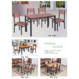 快餐桌椅 钢木餐桌 钢木餐桌椅 食堂餐桌 饭店餐桌 小吃店餐桌 学校餐桌 钢木家具 酒店家具 餐厨家具
