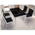 钢化玻璃餐桌椅组合 小户型餐桌 简约现代餐桌 (7)
