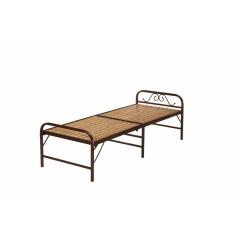 型号:木条床 优乐娱乐优乐娱乐折叠床 简易床 午休床 两折床 单人床 陪护床 铁艺床 单人床 卧室家具 欧博瑞家具