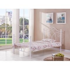 型号:Y-13白 优乐娱乐床铺优乐娱乐双人床 折叠双人床 铁艺双人床 双人板床 金属床 卧室家具 欧博瑞家具