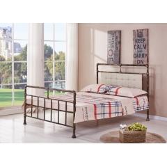型号:Y-04 优乐娱乐床铺优乐娱乐双人床 折叠双人床 铁艺双人床 双人板床 金属床 卧室家具 欧博瑞家具