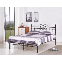 型号:411铜 优乐娱乐床铺优乐娱乐双人床 折叠双人床 铁艺双人床 双人板床 金属床 卧室家具 欧博瑞家具