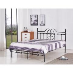 型号:411  优乐娱乐床铺优乐娱乐双人床 折叠双人床 铁艺双人床 双人板床 金属床 卧室家具 欧博瑞家具