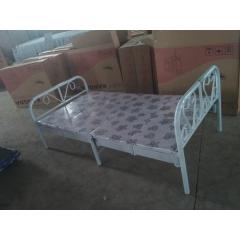优乐娱乐折叠床 简易床 午休床 两折床  陪护床 铁艺床优乐娱乐 康达床业 卧室家具