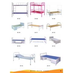 优乐娱乐高低床优乐娱乐 铁床 欧式床 铁艺床 龙骨床 单人床 上下床 鑫发家具
