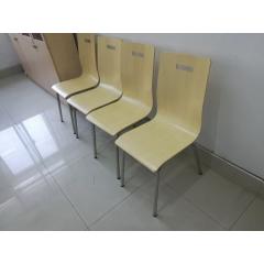曲木椅快餐椅肯德基椅阅览室椅咖啡厅椅奶茶店椅餐馆椅实木椅