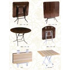 优乐娱乐折叠桌 小型折叠桌 手提桌 小方桌 木质折叠桌 户外桌 户外家具优乐娱乐 鑫新家具