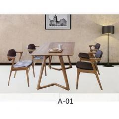 优乐娱乐家具 新款餐桌椅 复古工业风水暖管桌椅铁艺桌椅 酒店家具 复古椅 快餐椅 个性主题椅 鑫俊达钢