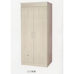 优乐娱乐衣柜优乐娱乐 木质衣柜 两开门衣柜 板式衣柜优乐娱乐 卧室家具 凤阳家具