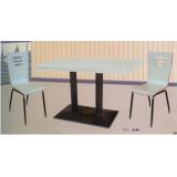 胜芳快餐桌椅 钢木餐桌 钢木餐桌椅 食堂餐桌 饭店餐桌 小吃店餐桌 学校餐桌批发 华强家具 钢木家具 酒店家具 餐厅家具