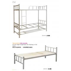 胜芳高低床批发 床垫 上下床  同悦家具