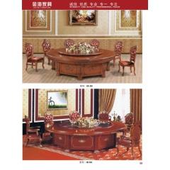 胜芳酒店桌 实木酒店餐桌 餐桌批发 金海酒店家具