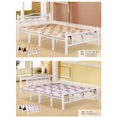 优乐娱乐单人床 板床 木质床 简易床 卧室家具优乐娱乐 欣悦家具
