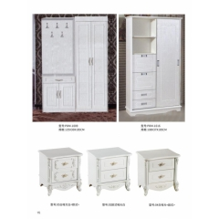 胜芳衣柜 木质衣柜 两开门衣柜 板式衣柜 卧室家具 小天才家具