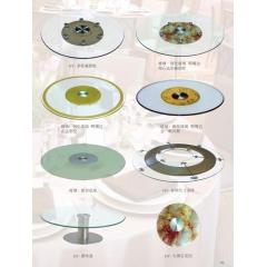 胜芳转盘 玻璃转盘 餐桌转盘 桌面转盘 实心大转盘 钢化玻璃转盘 酒店家具系列
