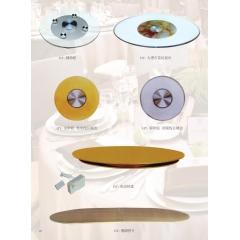 优乐娱乐转盘 玻璃转盘 餐桌转盘 桌面转盘 实心大转盘 钢化玻璃转盘 酒店家具系列