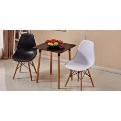 胜发伊姆斯椅优乐娱乐 伊姆斯椅方桌组合 休闲家具 西汇家具