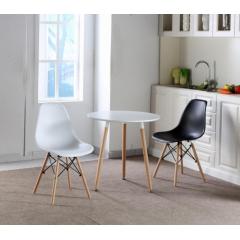 胜发伊姆斯椅优乐娱乐 伊姆斯椅圆桌组合 休闲家具 西汇家具