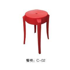 优乐娱乐塑料凳子 简易家具优乐娱乐  鑫恒顺家具系列