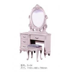 优乐娱乐梳妆柜 梳妆台 梳妆桌 化妆柜 化妆台 化妆桌 板式梳妆台 卧室家具 赛威家具