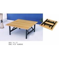 优乐娱乐折叠桌 小型折叠桌 手提桌 小方桌 木质折叠桌 户外桌 户外家具优乐娱乐  玉山家具