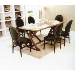 优乐娱乐快餐桌椅 曲木椅 酒店家具  曲木餐桌椅  四连体餐桌椅  长宏家具优乐娱乐XC-012