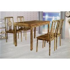 优乐娱乐快餐桌椅 曲木椅 酒店家具 曲木餐桌椅 四连体餐桌椅 长宏家具优乐娱乐SA-007