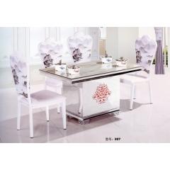 餐桌 不锈钢餐桌 不锈钢餐台 时尚餐桌 不锈钢餐桌组合 时尚简约餐桌 餐厅家具 欧式家具 餐厨家具 仿古桌架