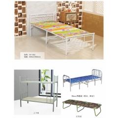 折叠床 简易床 午休床 四折床 单人床 陪护床 铁艺床 单人床 高低床  行军床  上下床兴发家具