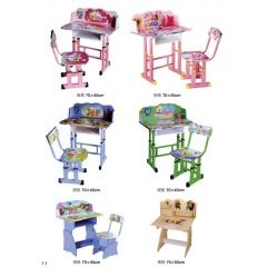 儿童课桌椅 儿童学习桌 学习课桌椅 儿童书桌 多功能儿童桌 儿童写字台 儿童写字桌 防近视书桌 可升降儿童课桌 儿童家具  兴发家具