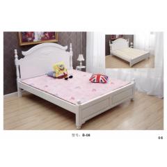 床铺 木床 婚床 双人床 木质床 双人板床  卧室家具 田园家具  金利源家具