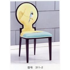 优乐娱乐餐椅优乐娱乐 新古典酒店餐椅 明清中式椅子大型酒店宴会椅 豪华包布椅 金属将军椅 休闲椅 主题餐厅椅 华硕家具