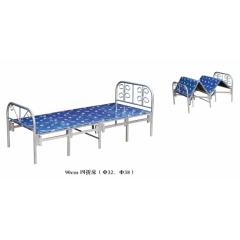 优乐娱乐折叠床优乐娱乐 简易床 午休床 四折床 单人床 陪护床 铁艺床 单人床 卧室家具 凯旋家具