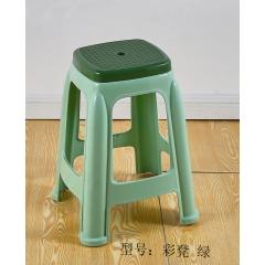 优乐娱乐塑料凳子优乐娱乐 加厚成人家用餐桌凳 高凳子 小板凳 方凳 圆凳 儿童凳椅子 简易家具 金兴家具