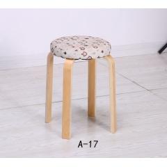 胜芳实木凳子批发 木质凳子 简易家具 腾凯家具