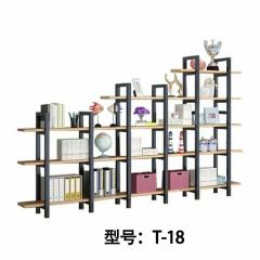 胜芳铁艺置物架批发  隔断花架 储物柜 工业风格loft书架 明宇轩家具