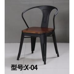 胜芳复古铁艺餐椅批发 太阳椅 牛角椅 A字椅 铁皮椅 叉背椅 围椅 太阳凳 時尚休闲椅 奶茶店咖啡厅椅等系列复古家具 明宇轩家具