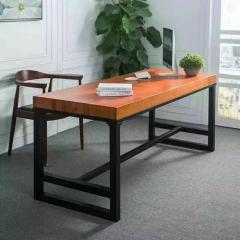胜芳家具 批发办公桌椅组合 餐桌椅组合 会议桌 餐桌 餐台  牛角椅  松木家具 森源松木家具