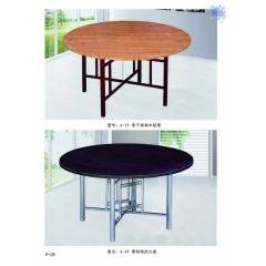 胜芳酒店桌批发 餐桌 餐椅 板床 转盘 高低床 酒店家具 浩文家具