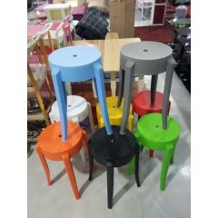 胜芳塑料凳批发 休闲凳  休闲桌椅 实木腿椅子 洽谈桌椅 接待桌椅 广华家具
