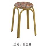 胜芳凳子批发 铁腿凳子 四腿凳子 铁质凳子 套凳 方凳 简易家具 瑞松家具