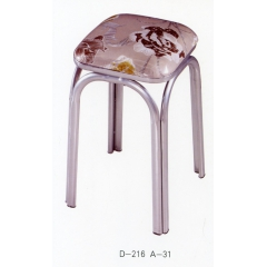 胜芳批发铁腿凳子 四腿凳子三腿凳子 铁质凳子 套凳 方凳 简易家具 强政家具