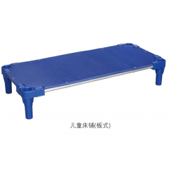 胜芳塑料床批发 儿童床 板式塑料床 儿童家具 学校家具 梦楠家具