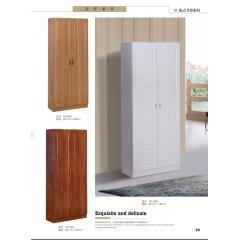 胜芳衣柜 木质衣柜 两开门衣柜 板式衣柜批发 卧室家具  宏洋家具