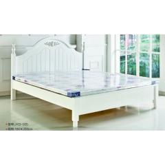 胜芳床铺批发 双人床 实木床 折叠双人床 木质双人床  双人板床 北欧家具 卧室家具 金源达家具