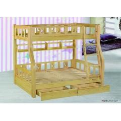 胜芳床铺批发  高低床  双人床 实木床 折叠双人床 木质双人床  双人板床 北欧家具 卧室家具 金源达家具